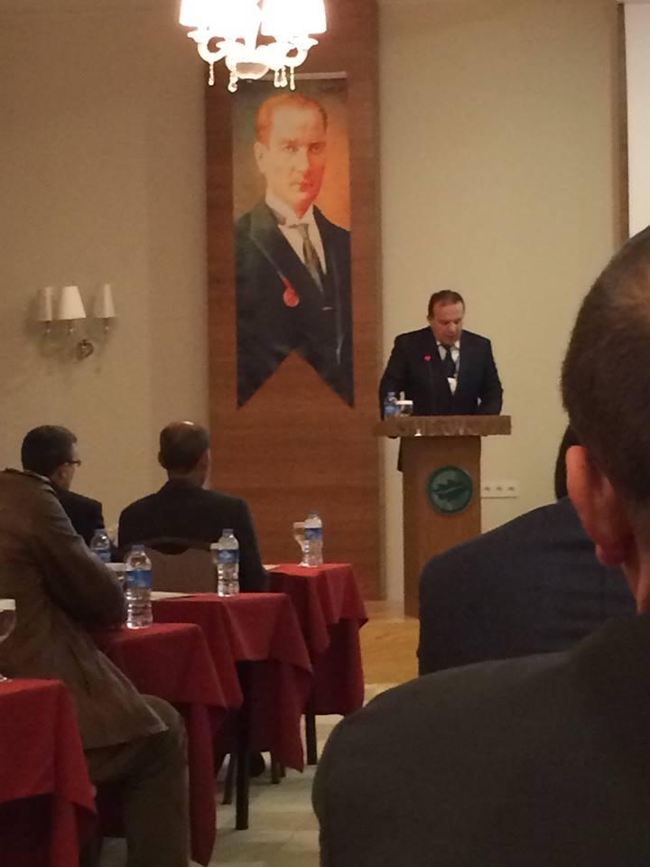 Başkanımız Talat YILDIZ' ın açılış konuşması