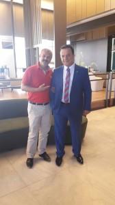 Federasyon Başkanımız Sn.Talat YILDIZ ve Mehmet KORKMAZ